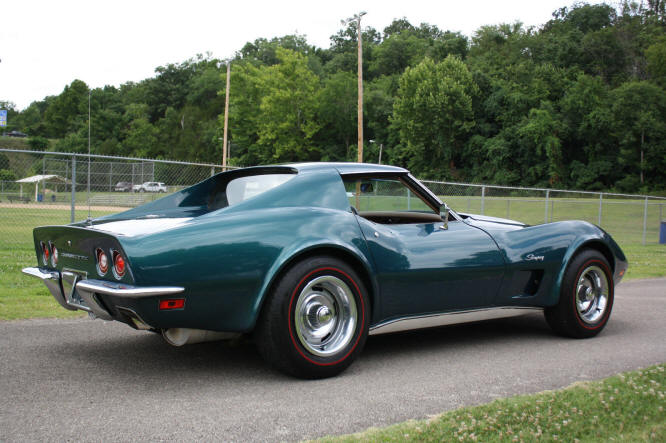 Image Gallery 73 Corvette Green